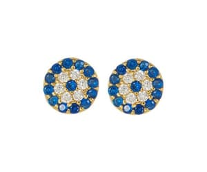 earrings, spring, and jewelry image
