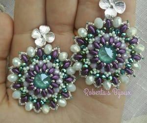 bijoux, orecchini, and pearls image