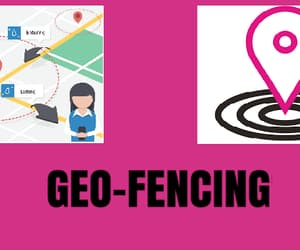 geofencing advertising, geofence service, and mobile geofencing process image