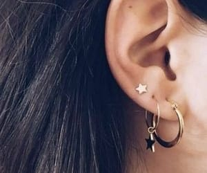 earrings, piercing, and earring set image