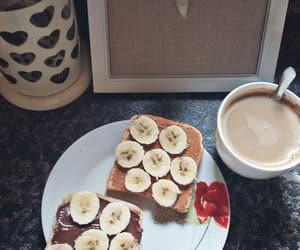 banana, breakfast, and sweet home image