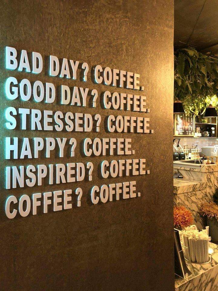 image about quotes in it is always time for coffee ☕️ by shar
