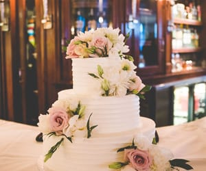 reception, weddingcake, and weddingceremony image
