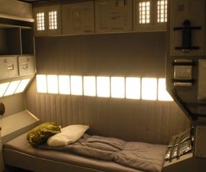 bedroom, futuristic, and quarter image