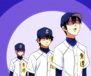 anime, baseball, and DNA image