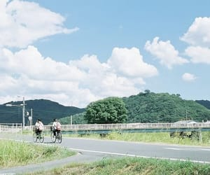 japan, bicycle, and film image
