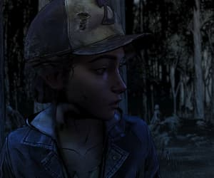clem, twd, and the walking dead image