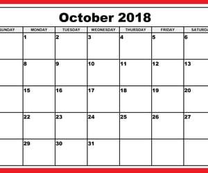 Image by Calendar 2018 Printable