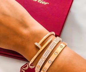 babe, bracelet, and cartier image