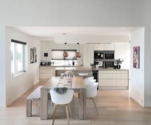 white, home, and kitchen image