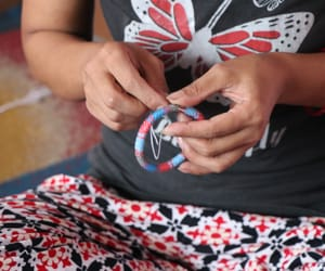 handmade bracelet, fashion bracelet, and roll on bracelet image