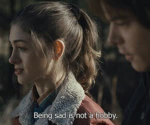 stranger things, sad, and quotes image
