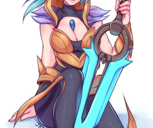 lol, riven, and league of legends image