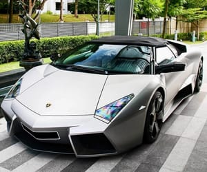 car, cars, and lambo image