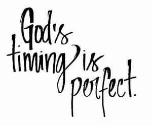 god, timing, and is image