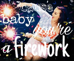 firework, katy perry, and prism image