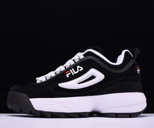 2, black, and Fila image
