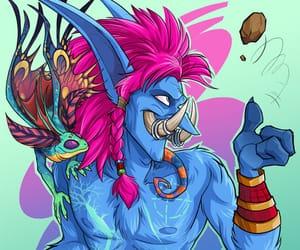 art, troll, and world of warcraft image