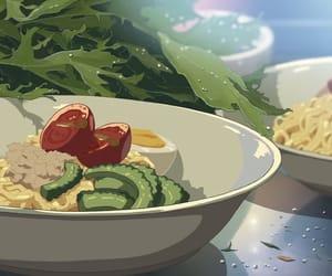 aesthetic, art, and anime food image