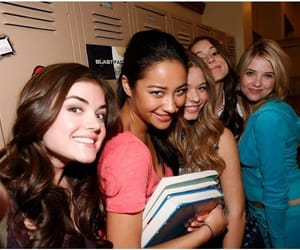 throwback and pretty little liars image