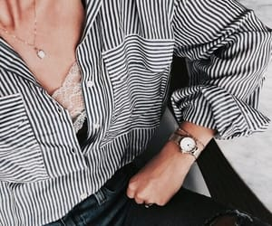 clothes, shirt, and watch image