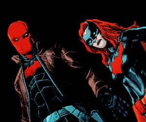 red hood, jason todd, and kate kane image