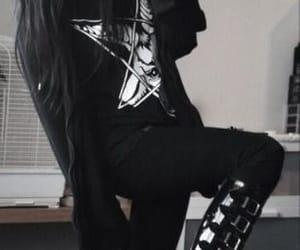 goth, heels, and Hottie image