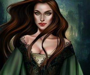 lysandra, throne of glass, and sarah j maas image