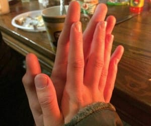 couple, love, and hands image