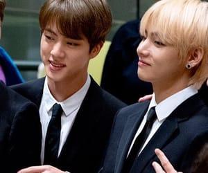 boys, suits, and kim namjoon image