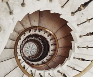 stairs, architecture, and vintage image