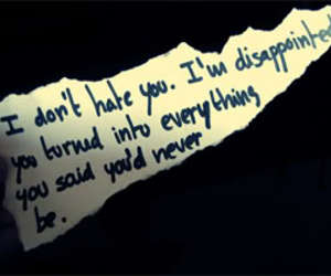 quote, disappointed, and hate image