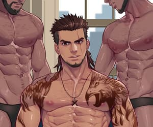 bleach, grimmjow, and muscle image