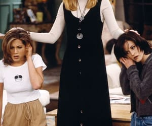 monica, rachel green, and friends image