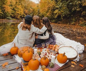 autumn, fall, and friendship image
