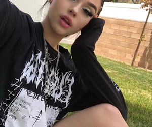 maggie lindemann, girl, and brunette image