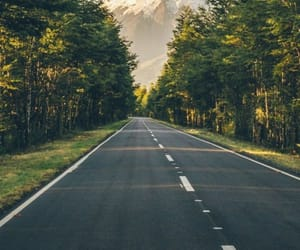 nature, road, and solitary image