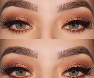 eyes, beauty, and eyebrows image