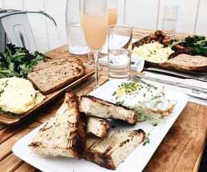 brunch, food, and green image