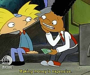hey arnold!, arnold shortman, and the high life image