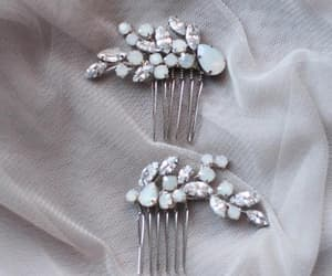 etsy, weddinghairpins, and bridalhairpins image