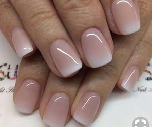 nails, rosa, and pink image
