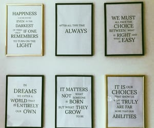harrypotter, posters, and quote image