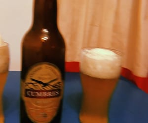 artesanal, night, and birra image