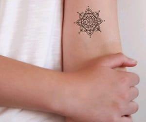 mandala, me, and tattoo image