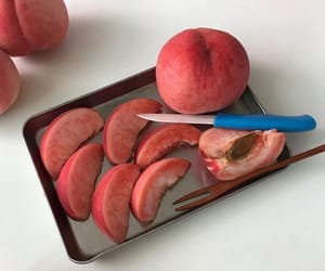 food and peach image