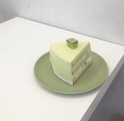 green, cake, and aesthetic image