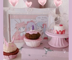 cupcake, kawaii, and pastel image