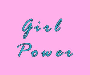 girl power, phone, and pink image