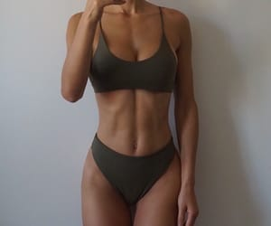 fitness, body, and girl image